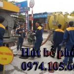 Hút bể phốt uy tín, giá rẻ tại Hà Nội 0974.105.606