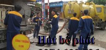 Hút bể phốt giá rẻ tại Hà Nội 0974.105.606