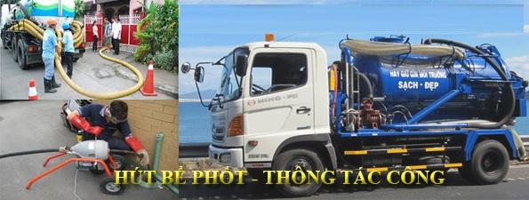 Một ngày với dịch vụ hút bể phốt tại Hoàng Mai - 0974.105.606