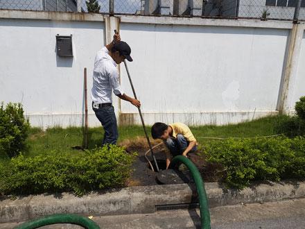 Hút bể phốt tại khu đô thị Định Công mới 0941.219.219
