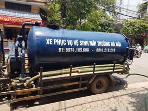 Hút bể phốt tại xã Yên Mỹ huyện Thanh Trì 0974.105.606