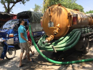 Dịch vụ hút bể phốt tại Nguyễn Lương Bằng giá rẻ - 0941.219.219