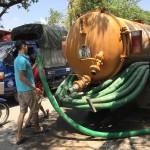 Hút bể phốt tại Hà Nội cam kết đúng khối lượng