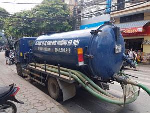 Hút bể phốt tại xã Tam Hiệp huyện Thanh Trì - 0974.105.606