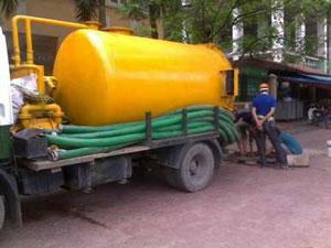 Dịch vụ hút bể phốt tại Ba Đình rẻ nhất - 0974.105.606