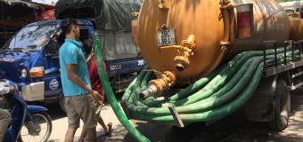 Hút bể phốt tại KCN Cẩm Điền – Lương Điền 0941.219.219