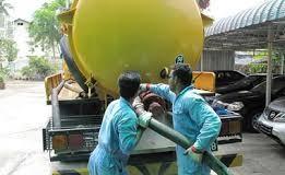 Hút bể phốt tại khu công nghiệp Cộng Hòa-Chí Linh 0941.219.219