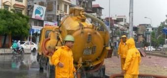 Hút bể phốt tại khu công nghiệp Đồng Văn giá rẻ.0941.219.219