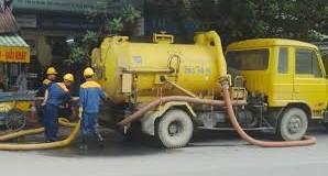 Hút bể phốt tại khu công nghiệp Nam Cầu Kiên 0941.219.219