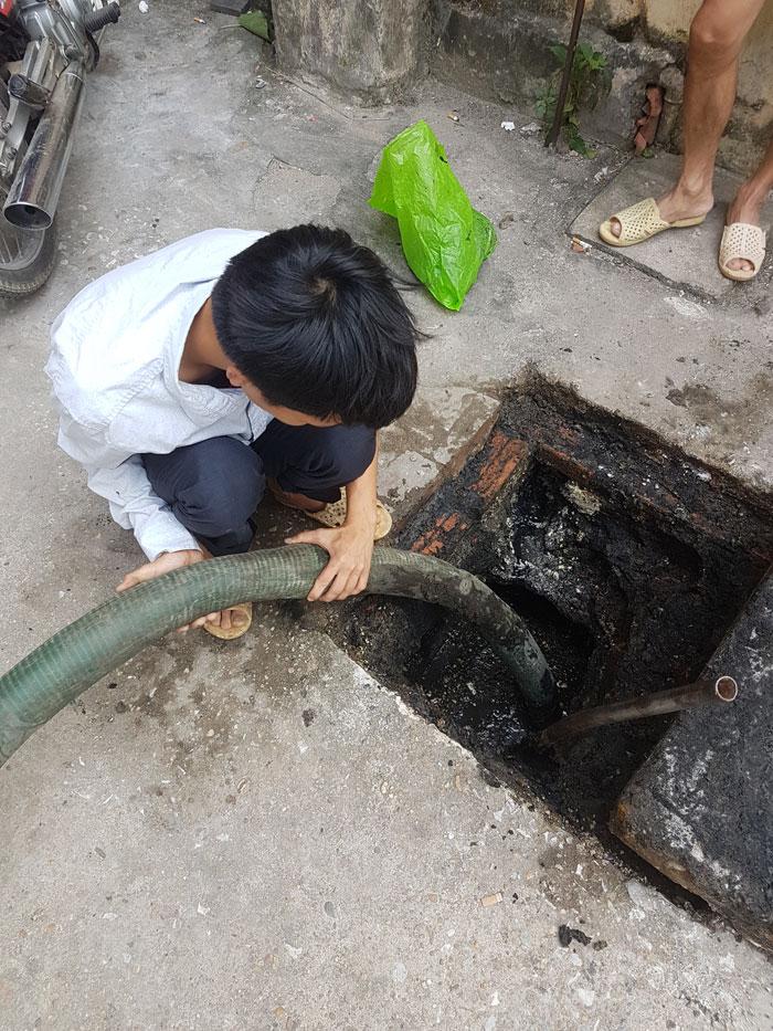 Hút bể phốt tại Nam Định giá rẻ nhất 0941.219.219
