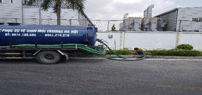 Thông hút bể phốt tại Thái Nguyên rẻ nhất 0941.219.219