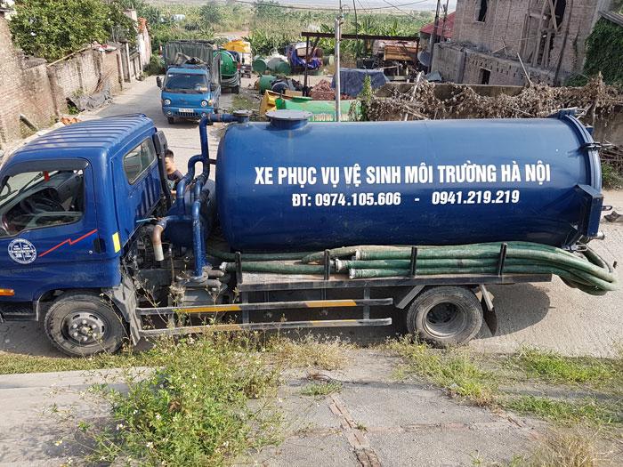 Hút bể phốt tại Ninh Hiệp giá rẻ nhất