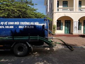 Hút bể phốt tại Ninh Hiệp uy tín 0974.105.606