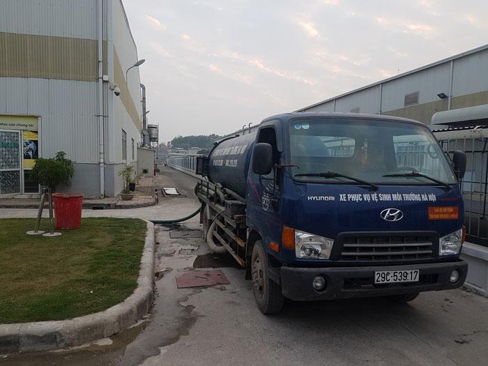 Hút bể phốt tại Yên Phong uy tín 0941.219.219