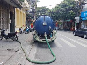 Hút bể phốt tại Cự Lộc giá rẻ 0941.219.219