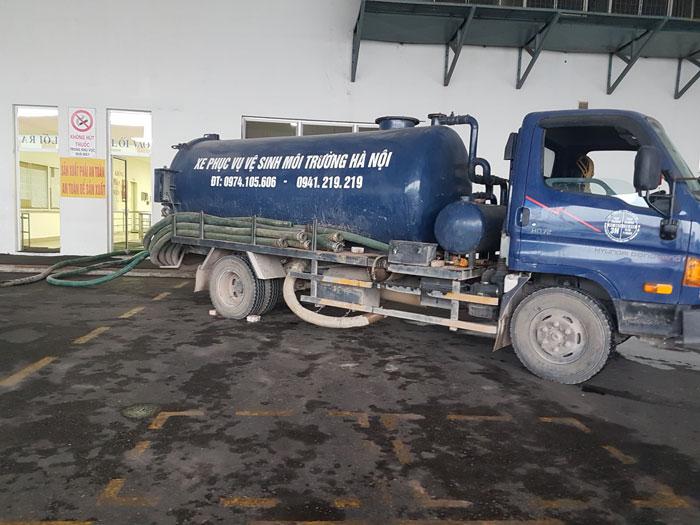 Hút bể phốt tại Phạm HUy Thông chất lượng 0941.219.219