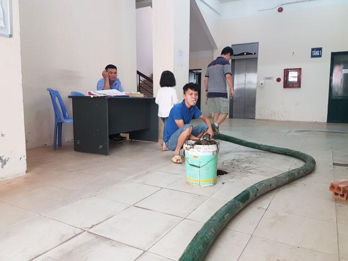 Hút bể phốt tại ngõ 151 Nguyễn Đức Cảnh giá rẻ nhất